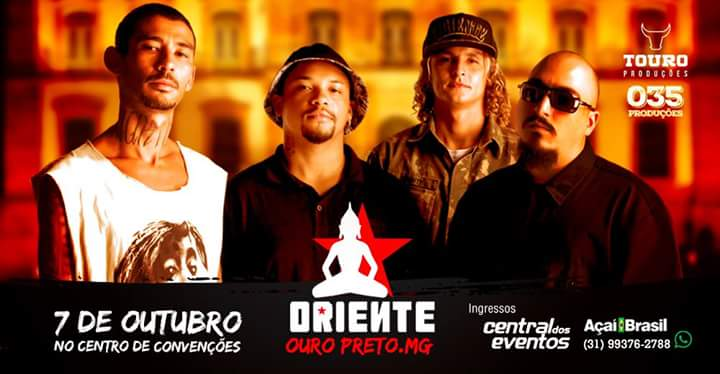 Show do Oriente - Ouro Preto/MG